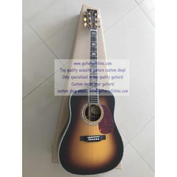 Custom dreadnought acoustic guitar Martin martin acoustic guitar strings D45 martin guitars Dreadnought martin d45 Standard martin guitar strings acoustic Series Guitar Sunburst(2018 new)