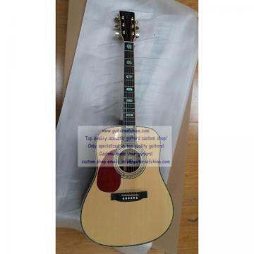 Custom Left-handed Martin D 45 SS Natural Guitar