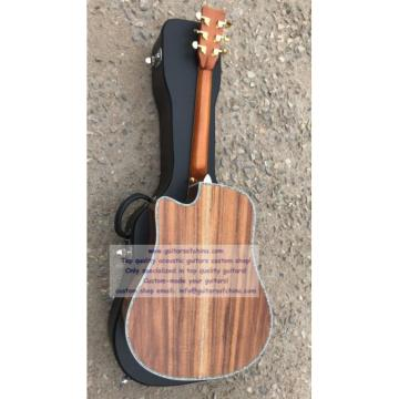 Custom Solid KOA Martin D45 Guitar