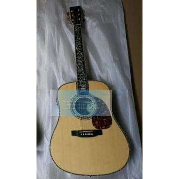 Custom natural Martin D45v tree of life guitar