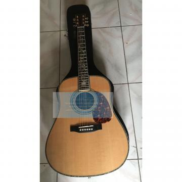 Custom Sitka dreadnought acoustic guitar Spruce  Top Quality Tree of Life Martin D-45