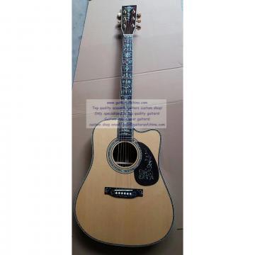 Custom Chinese Martin D45 Guitar Cutaway For Sale