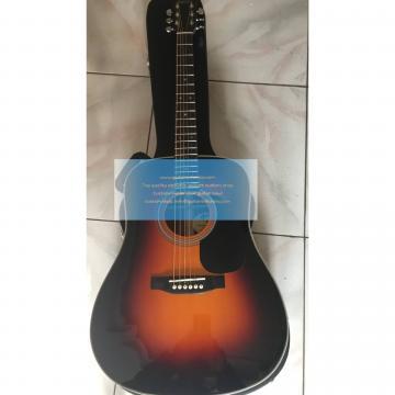 Custom Martin acoustic guitar D28 Standard martin guitar Series Sunburst(2018)