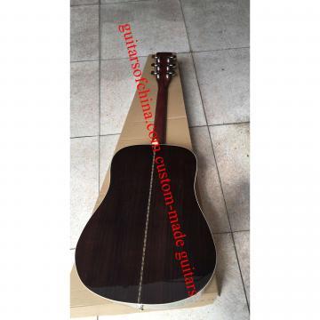 Custom Solid medium Spruce dreadnought Sunburst acoustic Martin D 28 Guitar