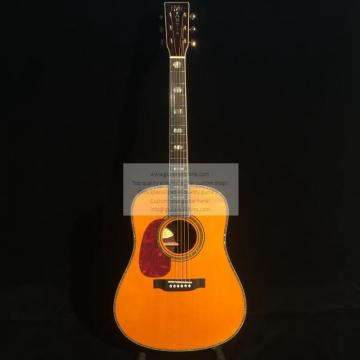Custom left-handed Martin d45ss acoustic guitar