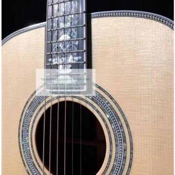 custom Martin D100 deluxe acoustic guitar