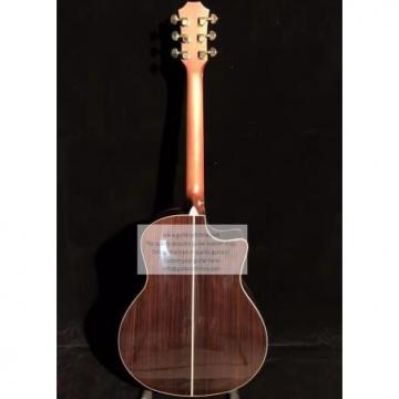 Custom Lefty Chtaylor 814ce Grand Auditorium Acoustic Electric Guitar