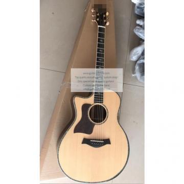 Custom Left-handed Chataylor 814ce acoustic guitar