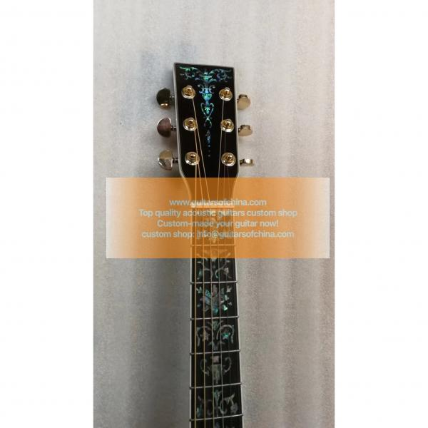 Chinese Custom Martin D45 Deluxe Abalone Inlay Guitar #2 image