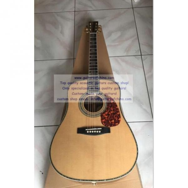 Sale Custom Martin Solid Sitka Spruce Top D-45 Guitar #1 image