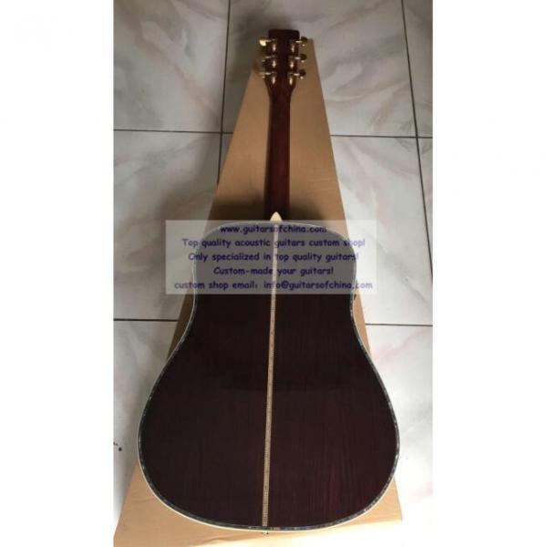 Sale Custom Martin Solid Sitka Spruce Top D-45 Guitar #2 image