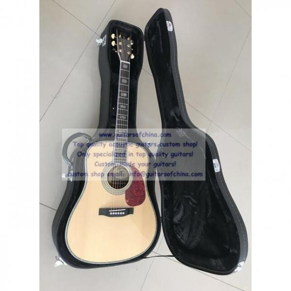 Custom Solid Spruce Top Martin D-45 Acoustic Electric Guitar #1 image