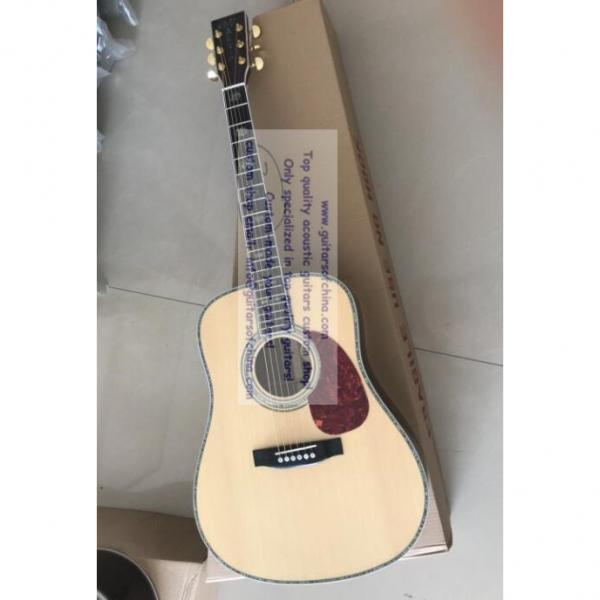 Custom Solid Spruce Top Martin D-45 Acoustic Electric Guitar #2 image