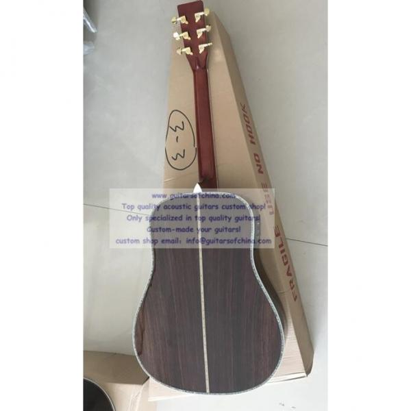 Custom Solid Spruce Top Martin D-45 Acoustic Electric Guitar #3 image