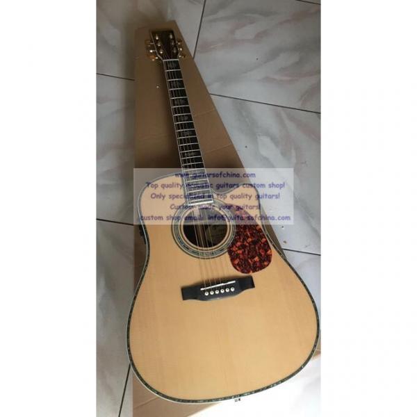 Custom acoustic guitar Martin D45 cutaway guitar #1 image