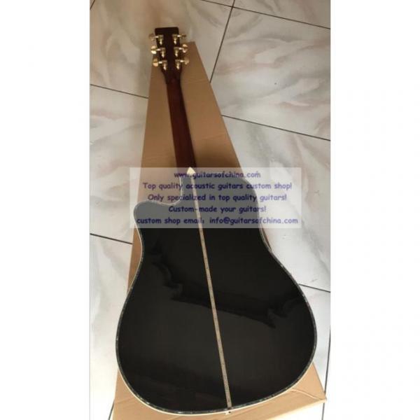 Custom acoustic guitar Martin D45 cutaway guitar #2 image