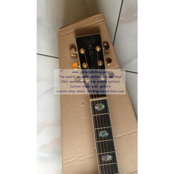 Custom acoustic guitar Martin D45 cutaway guitar #3 image