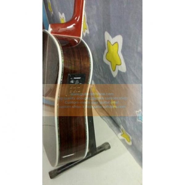 Custom acoustic guitar Tree Of Life Inlay Martin D 45 Dreadnought Guitar #3 image