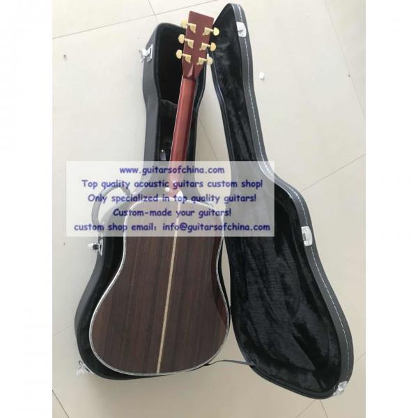 Custom Solid Wood Martin D-45 Acoustic Guitar Sunburst #2 image