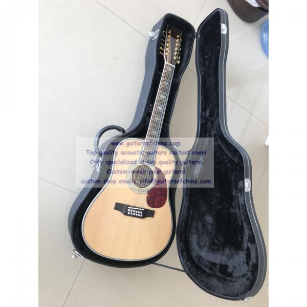 Sale custom 12 string Martin d45 acoustic-electric guitar #1 image