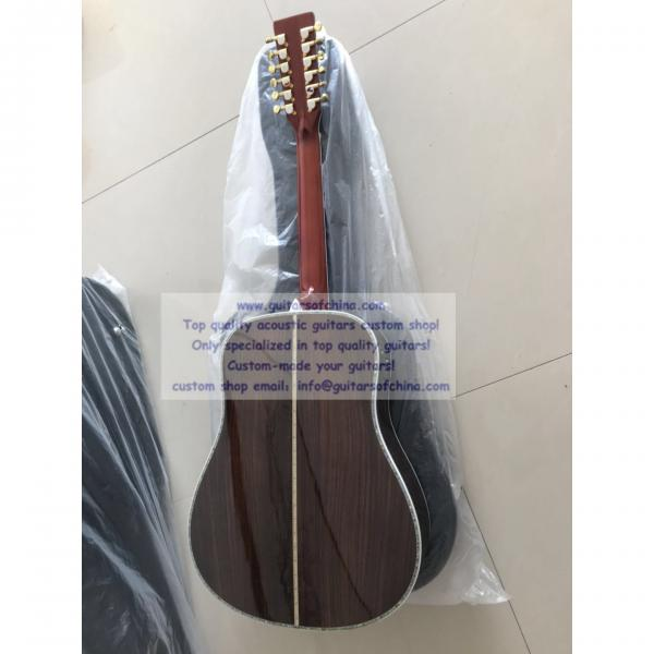 Sale custom 12 string Martin d45 acoustic-electric guitar #2 image
