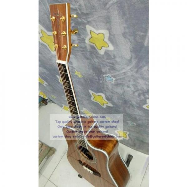 Custom Martin D45 KOA Dreadnought Cutaway Guitar #2 image