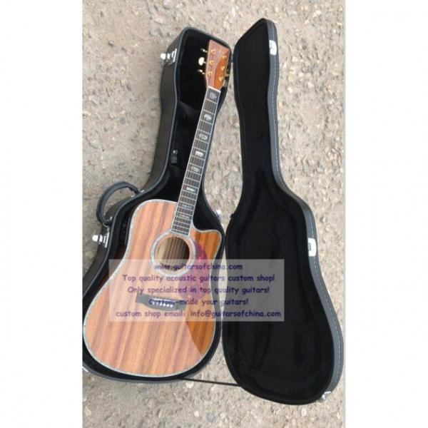 Custom Solid KOA Martin D45 Guitar #1 image