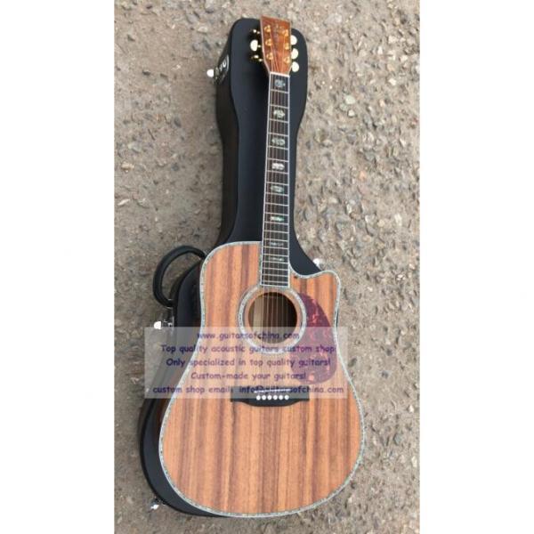 Custom Solid KOA Martin D45 Guitar #2 image