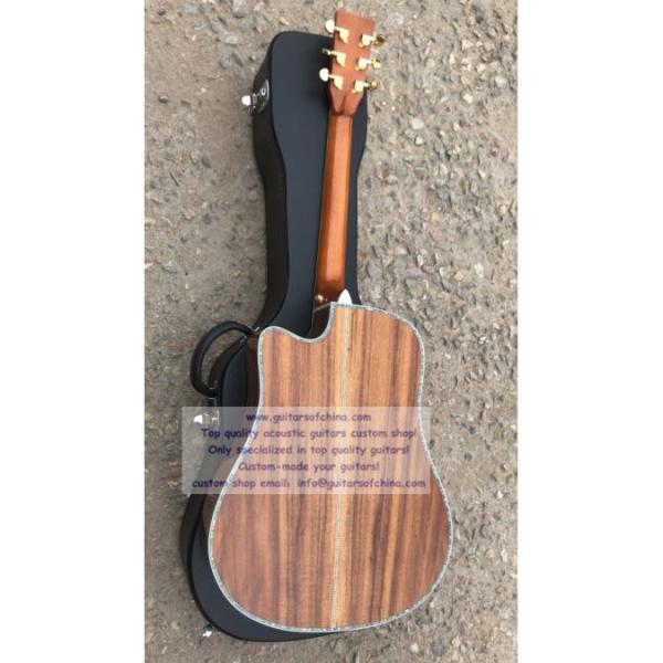 Custom Solid KOA Martin D45 Guitar #3 image