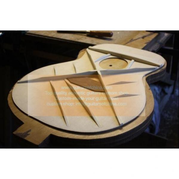 Custom solid dreadnought Martin D-35 guitar #4 image