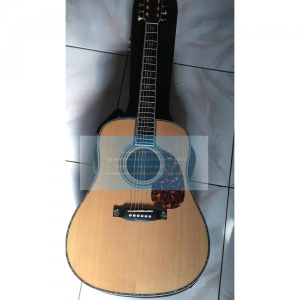 Custom Solid D45 Martin acoustic electric guitar #1 image