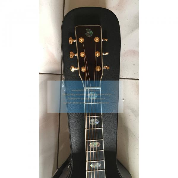 Custom Solid D45 Martin acoustic electric guitar #3 image