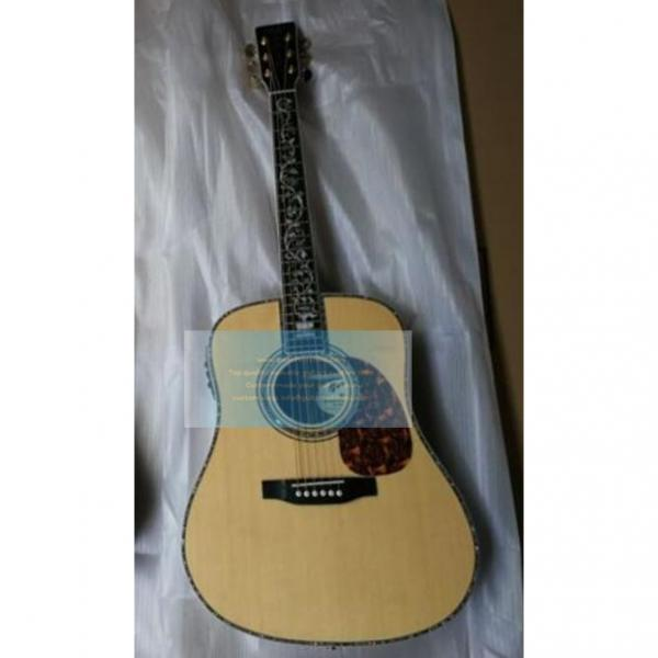 Custom natural Martin D45v tree of life guitar #1 image