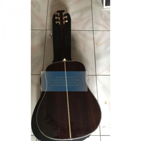 Custom Top Quality Tree of Life Martin D-45 Guitar #2 image