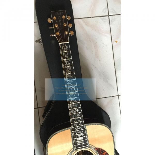 Custom Top Quality Tree of Life Martin D-45 Guitar #3 image
