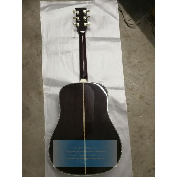 Buy custom chinese martin d45 type solid rosewood guitar #2 image
