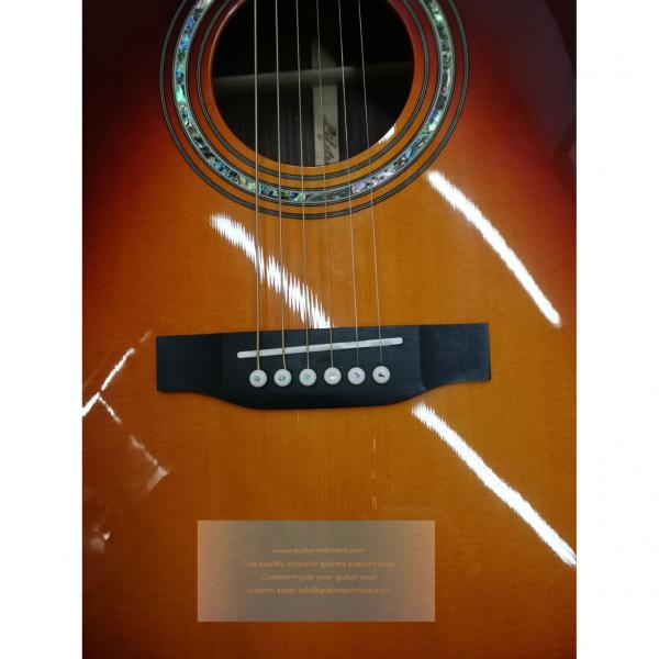 Buy custom chinese martin d45 type solid rosewood guitar #4 image