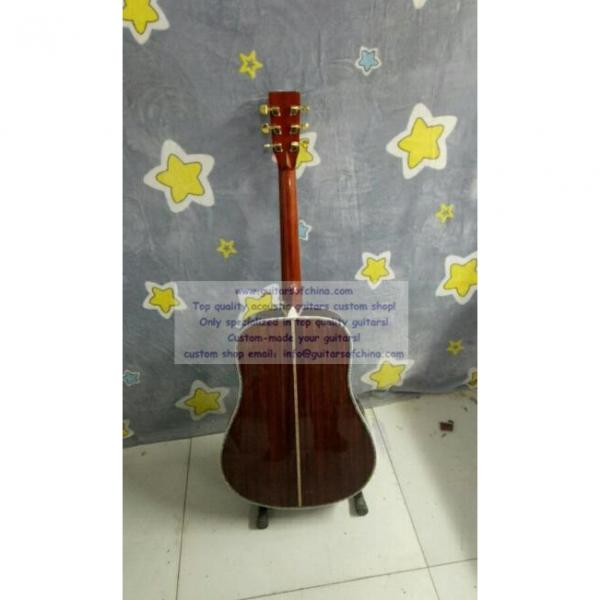 Custom solid martin copy guitar d-45 standard series #2 image