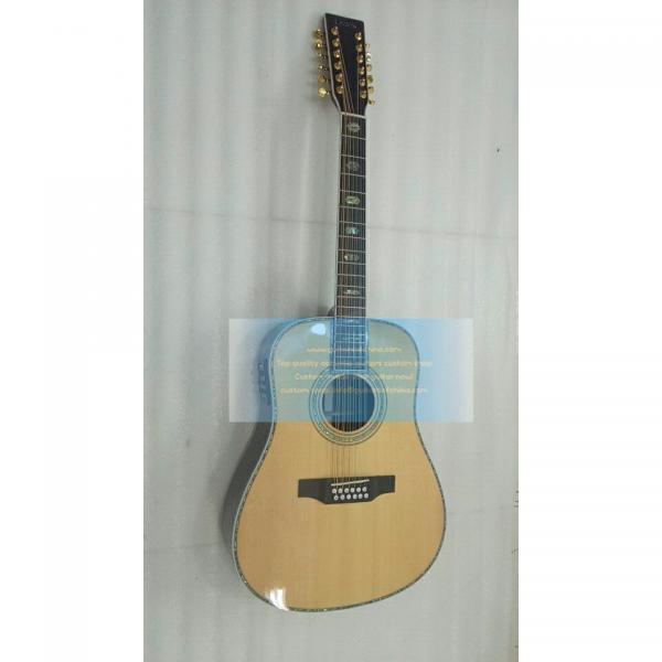 Custom solid wood Martin d45 12 string acoustic guitar #1 image