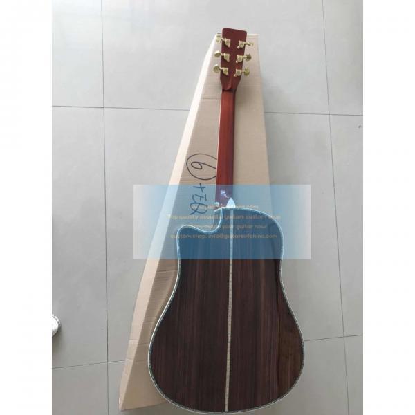 Custom Martin D45 Dreadnought Cutaway Acoustic-Electric Guitar #2 image