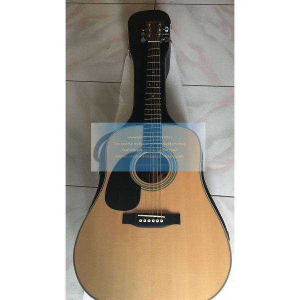 Custom left-handed Martin d-28 best acoustic electric guitar #1 image