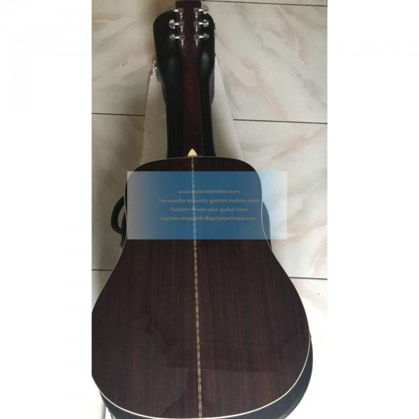 Custom left-handed Martin d-28 best acoustic electric guitar #2 image