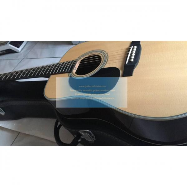 Custom left-handed Martin d-28 best acoustic electric guitar #3 image