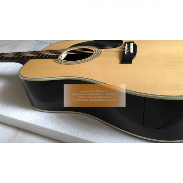 Custom Martin D28 dreadnought standard series guitar natural #3 image