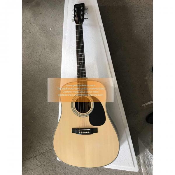 Custom Martin acoustic D-28 guitar #1 image