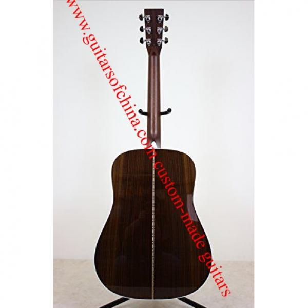 Sale Custom Best Acoustic Solid Martin guitar D 28 #4 image