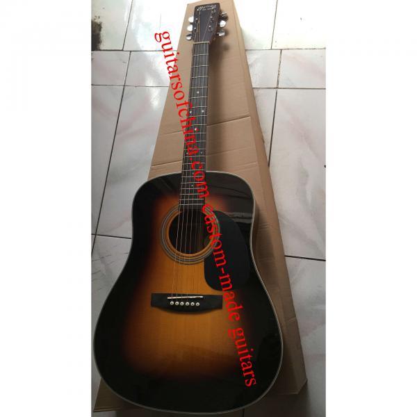 Custom Solid Spruce Sunburst Martin D28 Guitar #1 image
