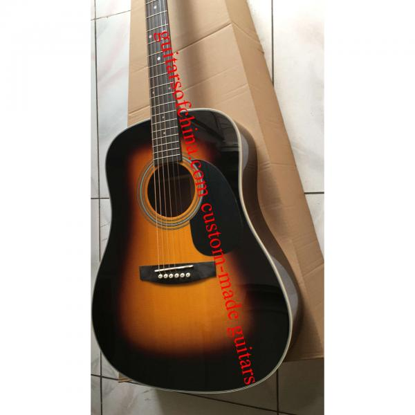 Custom Solid Spruce Sunburst Martin D28 Guitar #2 image