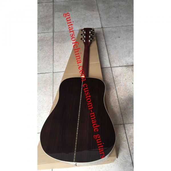 Custom Solid Spruce Sunburst Martin D28 Guitar #3 image