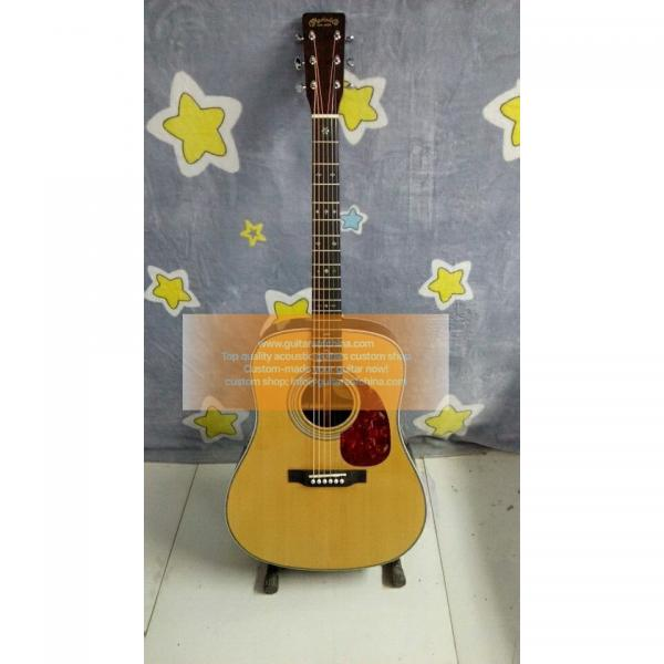 Sale custom solid wood Martin HD28V acoustic-electric guitar #1 image